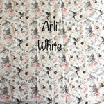 Arli White - (Nappy Cover, Shorts, Harem Pants) - Mikayla Ann Boutique