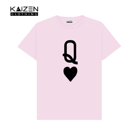 Queen Heart Printed T-shirt
