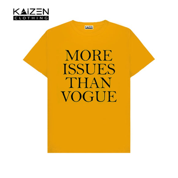 More Issues Than Vogue Printed T-shirt