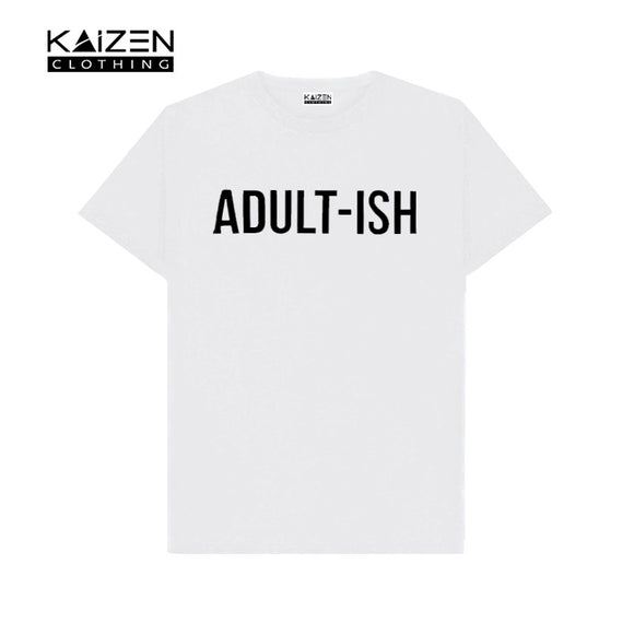 Adult-ish Printed T-shirt