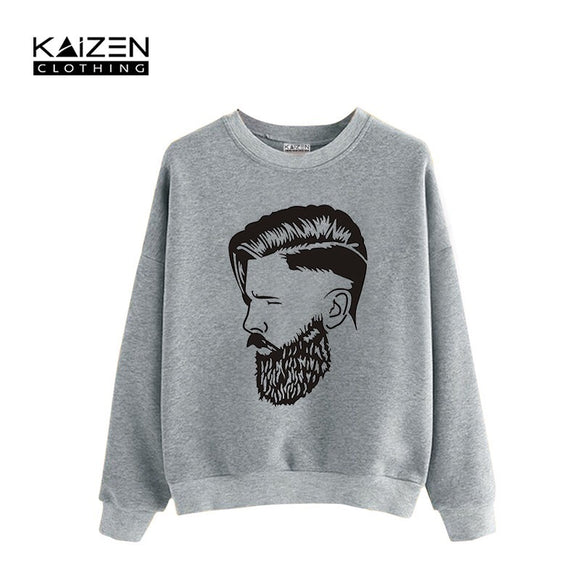 Full Beard Man Sweatshirt