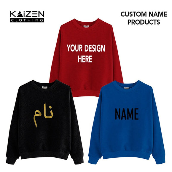 Customise Sweatshirt