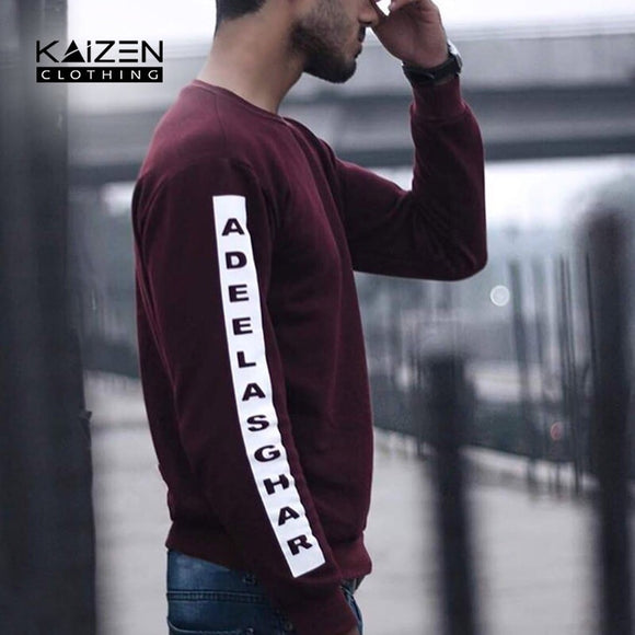 Customise Name Sleeves Sweatshirt