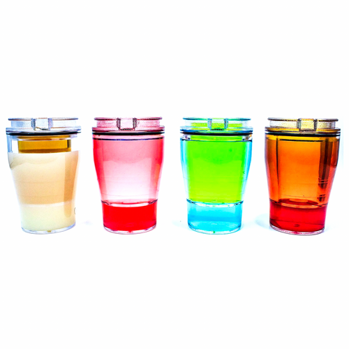 DoubleTake Shot Glass (Clear) - 4 Pack