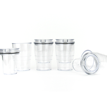 Load image into Gallery viewer, DoubleTake Shot Glass (Clear) - 4 Pack