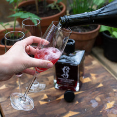 Raspberry Gin Miniature