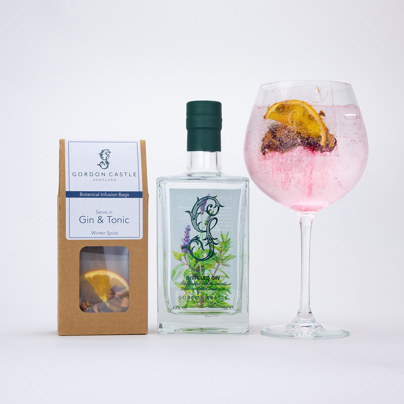 Gordon Castle Gin and Infusion Bag Set