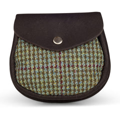 Gordon Castle Scotland Tweed Sporran Purse