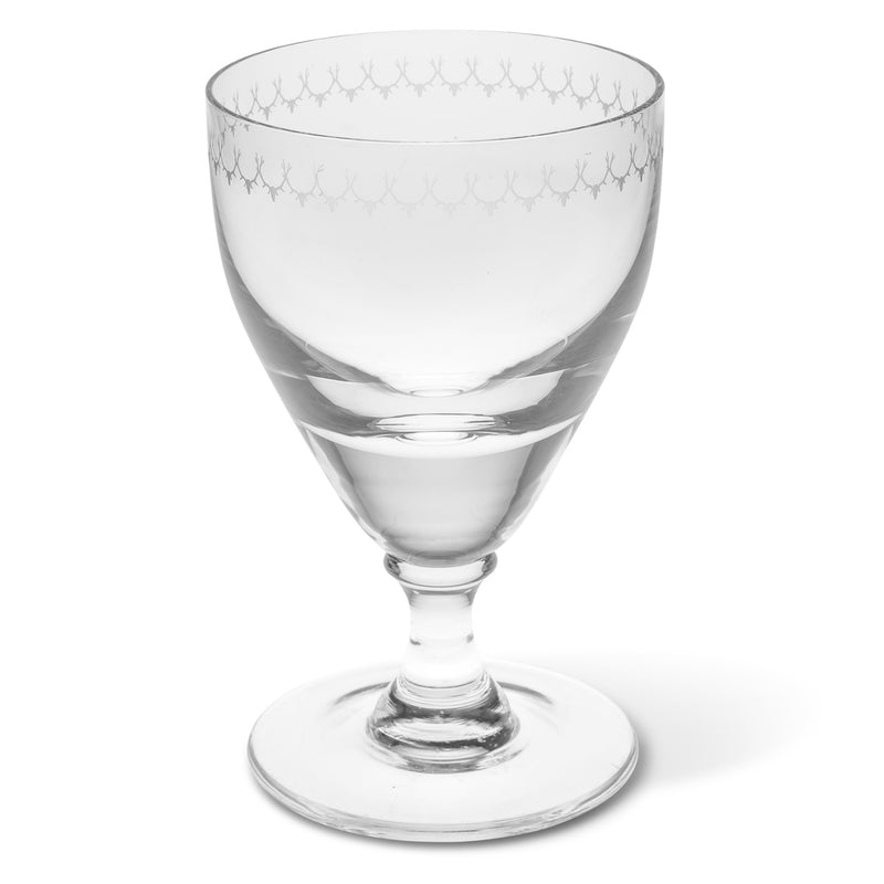 Engraved Gin Glass