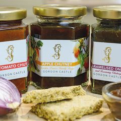 Gordon Castle Scotland Chutney Trio Set