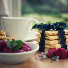 Gordon Castle Scotland Raspberry Shortbread