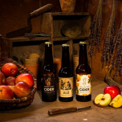 Gordon Castle Scotland Cider and Ale Set