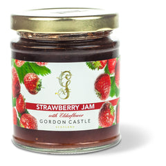 Gordon Castle Scotland Strawberry and Elderflower Jam