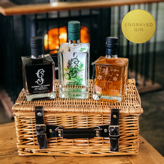 Engraved Gin Lovers Bundle Box