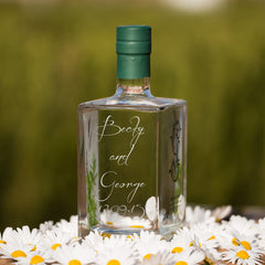Engraved Botanical Gin