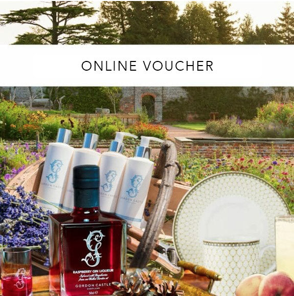 Gordon Castle Scotland Online Gift Voucher