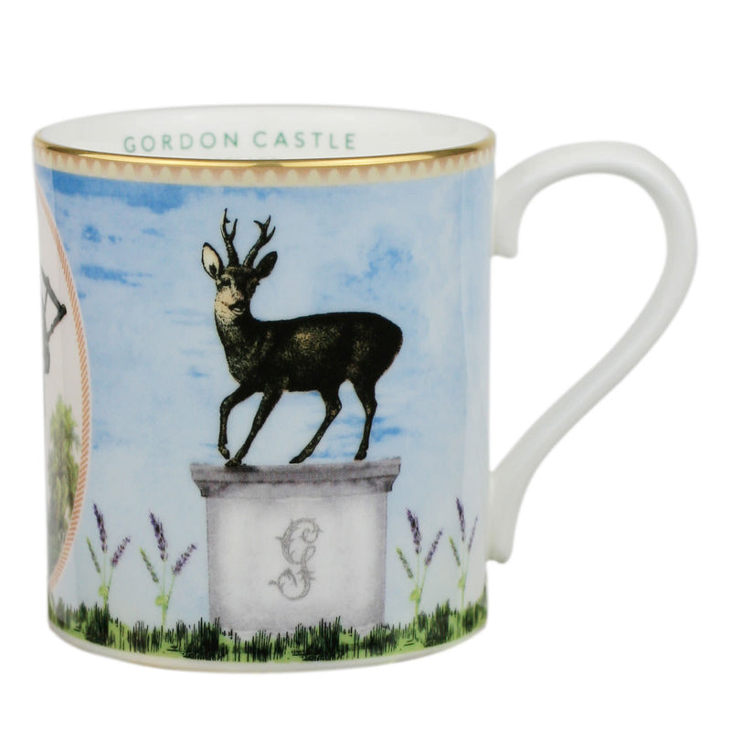 Gordon Castle Scotland Halcyon Days Walled Garden Stag Mug