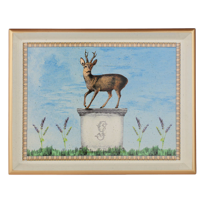 Gordon Castle Scotland Halcyon Days Walled Garden Stag Vanity Tray