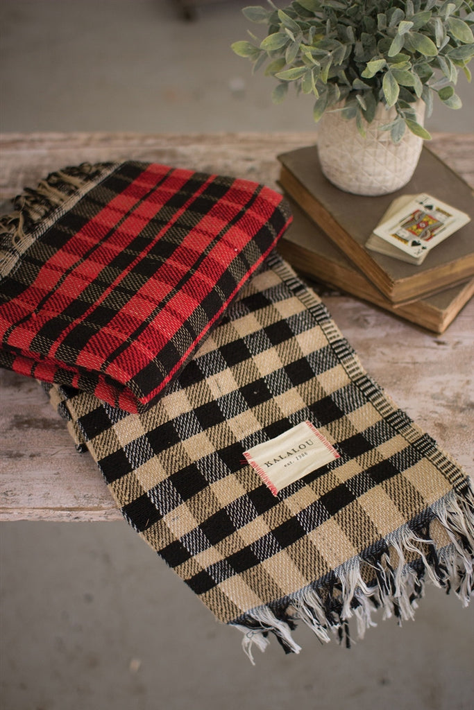 Buffalo Plaid Table Cloth