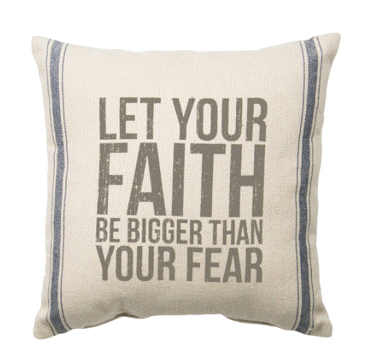 Let Your Faith Pillow