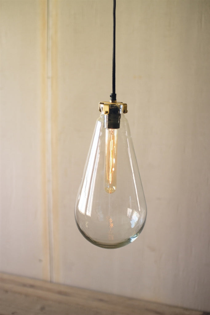 Glass Bulb Pendant Light