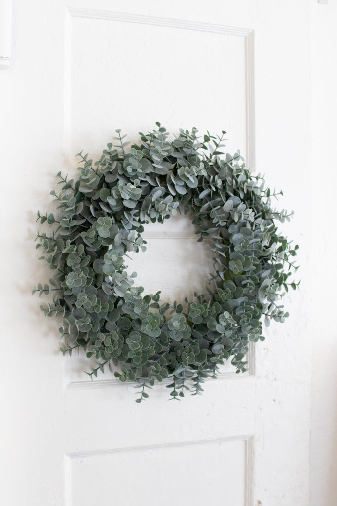 Artificial Eucalyptus Wreath