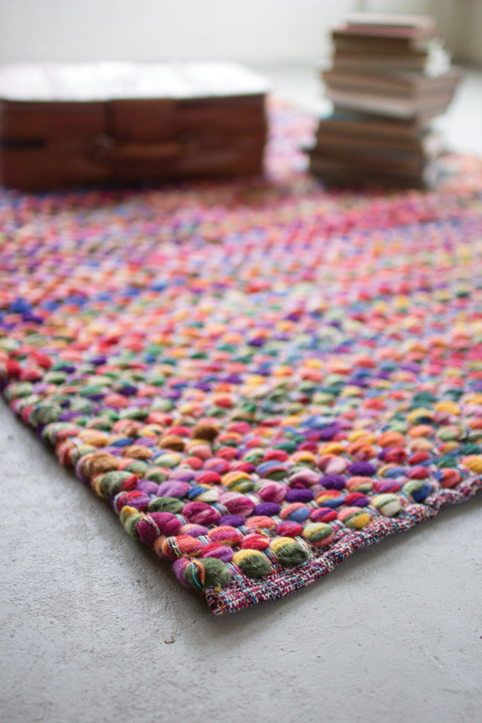 Recycled Multi Color Cotton Rug