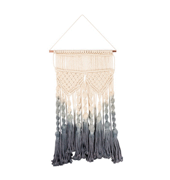 Dip Dyed Ombre Macrame - Large