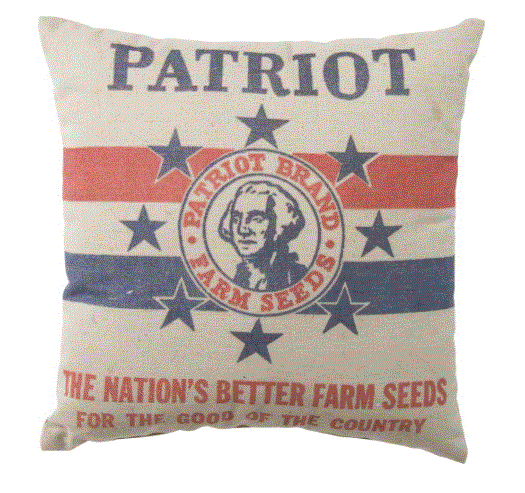 Patriot Farm Seeds Pillow