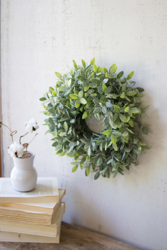 Artificial Sage Wreath - Set of 2