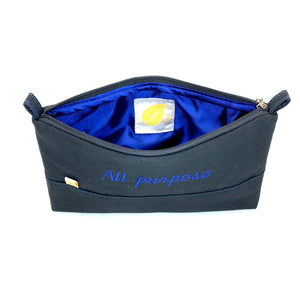 Polyester liner inside choose black or blue