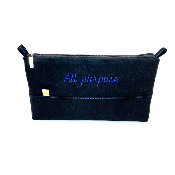 Washable and customizable all purpose bag