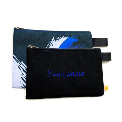 Washable custom pouch