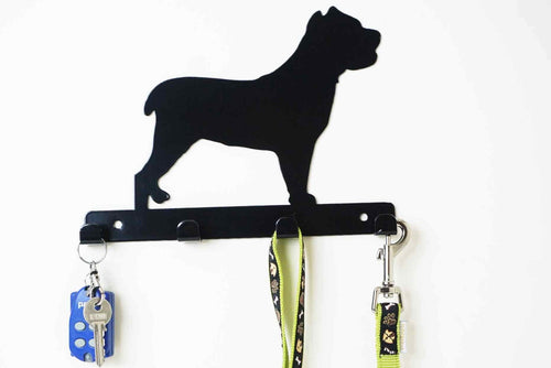 Cane Corso - Dog lead / Key holder - Front View