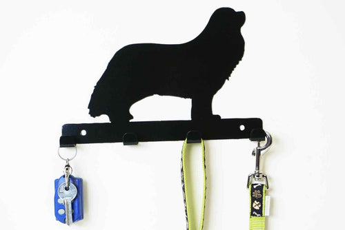 Cavalier King Charles Spaniel - Dog Lead / Key Holder, Hanger, Hook - Unique Metalcraft