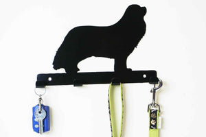 Cavalier King Charles Spaniel - Dog lead / Key holder - Front View