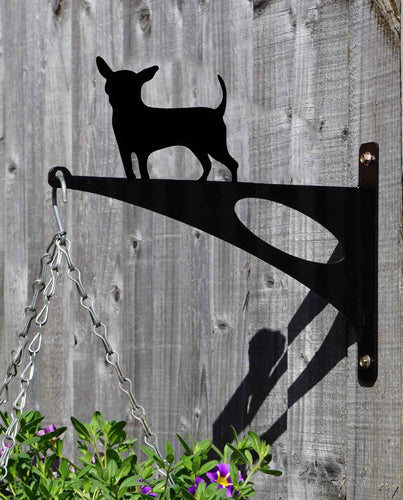 Chihuahua Hanging Basket Bracket