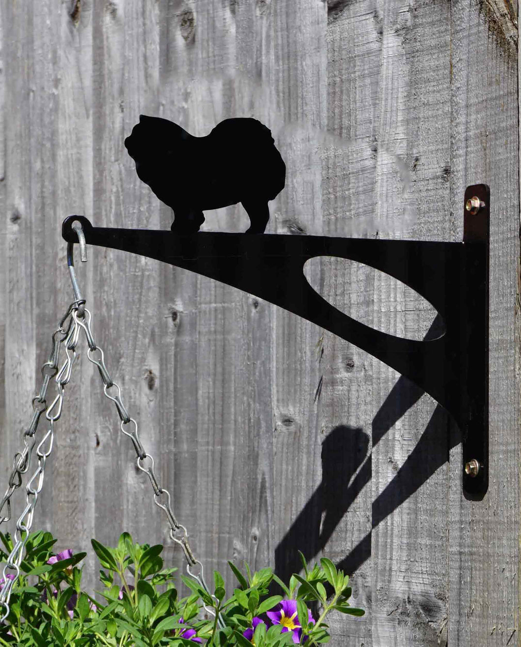 Chow Chow Hanging Basket Bracket
