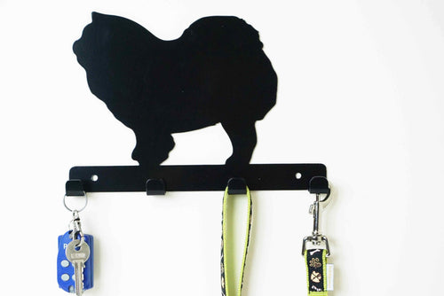 Chow Chow - Dog Lead / Key Holder, Hanger, Hook - Unique Metalcraft