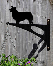 Load image into Gallery viewer, Collie Hanging Basket Bracket - Unique Metalcraft