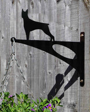 Load image into Gallery viewer, Doberman Hanging Basket Bracket - Unique Metalcraft