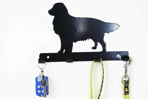 Golden Retriever - Dog Lead / Key Holder, Hanger, Hook