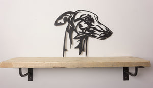 Greyhound Dog Wall Art / Garden Art