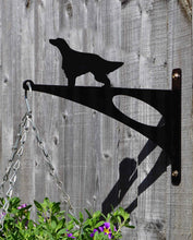 Load image into Gallery viewer, Irish Setter Hanging Basket Bracket