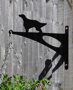 Irish Setter Hanging Basket Bracket - Unique Metalcraft