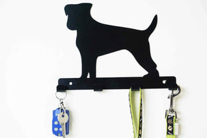 Jack Russell - Dog Lead / Key Holder, Hanger, Hook