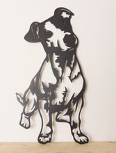 Load image into Gallery viewer, Jack Russell Dog Wall Art / Garden Art - Unique Metalcraft