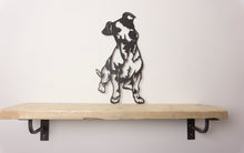 Load image into Gallery viewer, Jack Russell Dog Wall Art / Garden Art