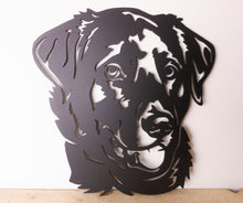 Load image into Gallery viewer, Labrador Dog Wall Art / Garden Art - Unique Metalcraft