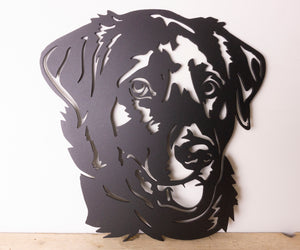 Labrador Dog Wall Art / Garden Art - Unique Metalcraft